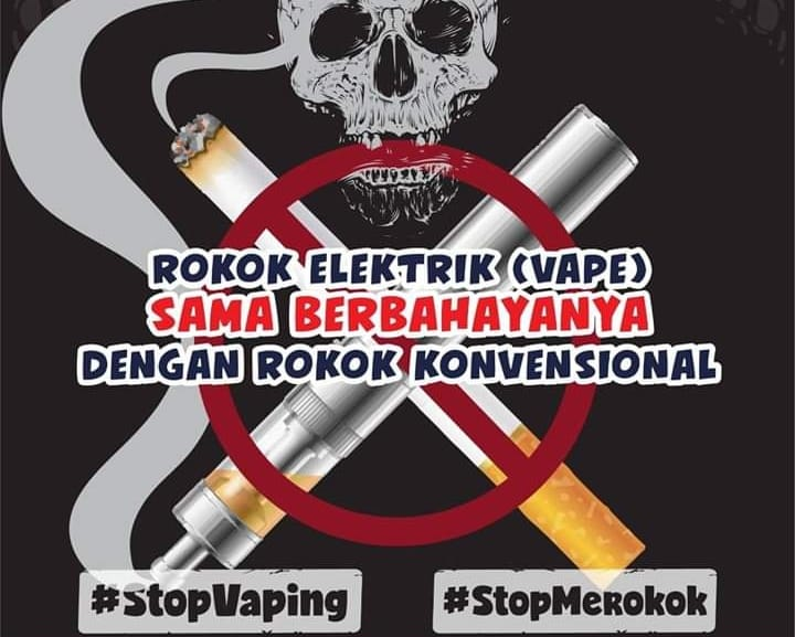 STOP VAPING dan STOP MEROKOK