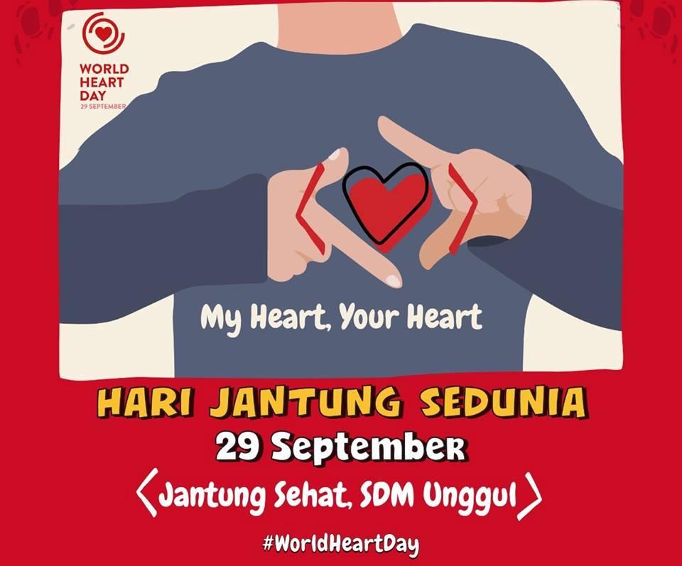 29 September Hari Jantung Sedunia